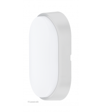 Aplique Oval Exterior Decorativo Led Blanco 5,5W IP54