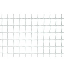 Malla A Cuadrados Blanca Premium 1 x 25 Metros 20 x 20 MM