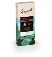 Cápsulas De Café Orgánico Descafeinado 10 Unidades Granell