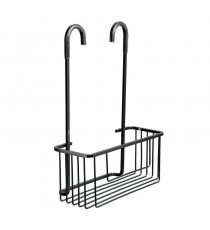 Cestillo Con Colgador Aluminium Black Tatay 6603400