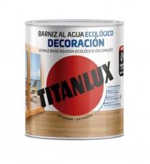 Barniz Aquídico Incoloro Brillante Titanlux 250 ML
