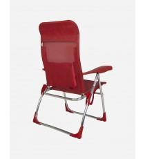 Silla De Playa Crespo Mod. AL-206 Rojo