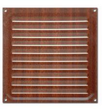 Rejilla de Ventilación Madera Oscura 150 MM x 150 MM