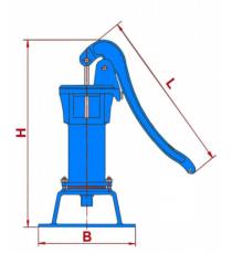 Bomba De Jarro Nº 2 Azul