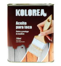 Aceite Para Teca Color Miel 750 ML