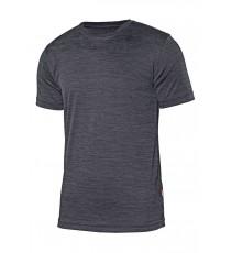 Camiseta Técnica Gris Jaspeada