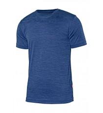 Camiseta Técnica Azul Jaspeada