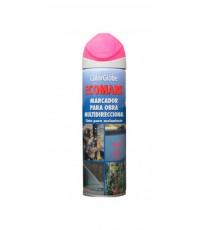 Marcador Fluorescente Obra Spray Fucsia 500 ML