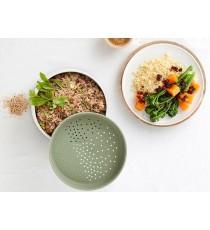 Cocedor De Arroz Quinoa Y Cereales Microondas Lekue