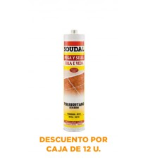 Poliuretano Pega y Sella Marrón 300 ML