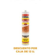 Poliuretano Pega y Sella Blanco 300 ML