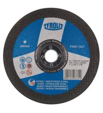 Disco desbaste 230x6.0x22.23 mm A30P FAST CUT 2in1 TYROLIT