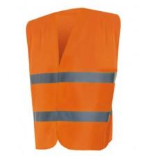 Chaleco De Alta Visibilidad Naranja M/L
