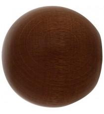 Terminal madera Esfera 20 mm Nogal