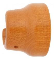 Soporte madera lateral 28 mm Teca