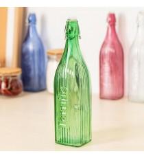 Botella de Vidrio Verde Viba 1 Litro