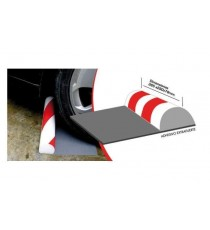 Protector parking media luna suelo 385x290x78 mm DICOAL