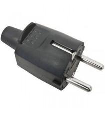 Clavija goma Industrial 10-16A (4.8)