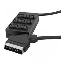 Euroconector SCART BOX 3 vias 1m