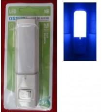 Luz noche LED 0.5W Blanca OSSUN