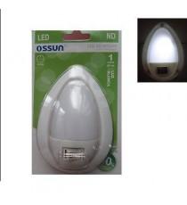 Luz noche LED 1W Blanca OSSUN