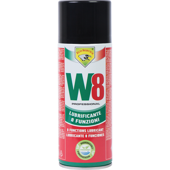 Lubricante 8 funciones W8 400 ml