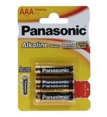 Pila Alcalina AAA LR03 PANASONIC BL 4 Uds