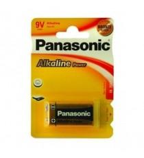 Pila Alcalina 9V 6LR61 PANASONIC BL 1 Ud