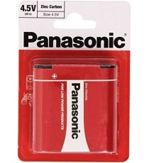Pila Zinc-Carbono 3R12 4.5V PANASONIC BL 1 Ud