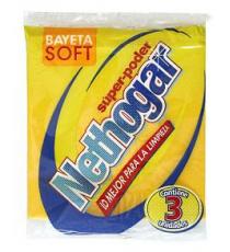 Bayeta Soft Nethogar 3 Uds