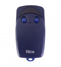 Emisor NICE FLO 2 canales codigo fijo 433,92 MHz.