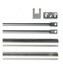 Varillas para puertas de altura máx. 2.400 mm BASE INOX ISEO