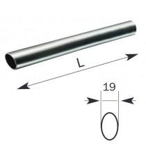 "Barra horizontal ovalada de acero INOX 1.330 mm ""Base INOX"" ISEO"
