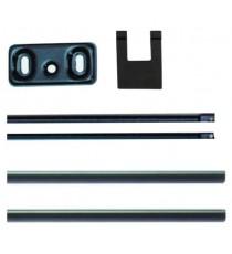 Varillas para puertas de altura máx. 2.400 mm BASE y PUSH ISEO