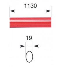 "Barra oval horizontal 1.130 mm para serie IDEA ""BASE"" y ""PUSH"""