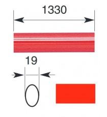 "Barra oval horizontal 1.330 mm para serie IDEA ""BASE"" y ""PUSH"""