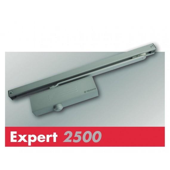 CIERRAPUERTAS EXPERT 2500 RETENCION BLANCO TELESCO
