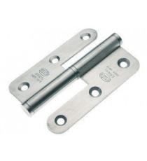 Pernio mod.427 izquierda 90x65x2,5 mm mm INOX 18/8 AMIG