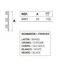Bisagra Mod. 401 Cromada IBYP