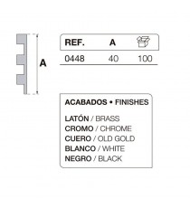 Bisagra Mod. 448 Cromada IBYP