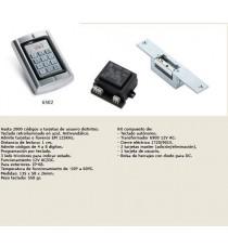 Sistema de apertura mediante teclado/tarjeta de proximidad JIS