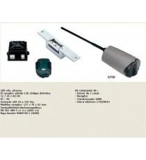 Sistema de apertura mediante mando a distancia JIS