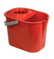 Cubo Con escurridor Rectangular Rojo Tatay