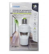 Sensor de movimiento por infrarrojos (PIR) OSSUN