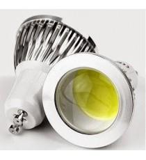 LÁMPARA COB LED GU10 3W LUZ BLANCA 6400K