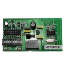 RECEPTOR ENCHUFABLE RSTRTS 433.92 MHz CÓDIGO FIJO 6 PINES