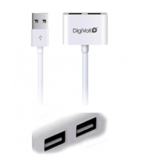 Cable USB doble