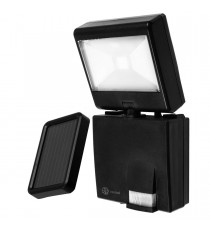 Kit solar iluminacion led recargable con sensor