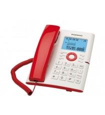TELEFONO DE SOBREMESA BLANCO Y ROJO DTC-370R DAEWOO