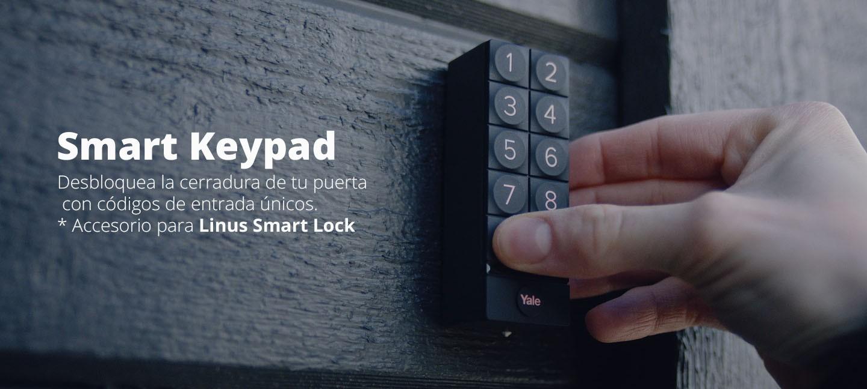 Teclado Numérico Digital Yale Smart Keypad